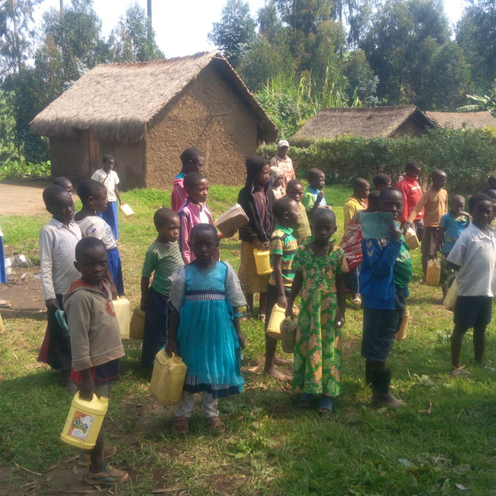 Watermanagement in Masisi, Congo